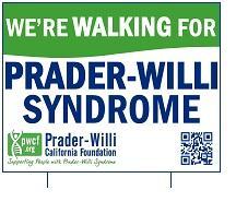 PWS Walk Yard Sign