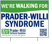 PWS Walk Yard Sign