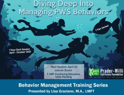 Diving Deep Into Managing PWS Behaviors